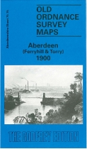 Old OS Map Aberdeen Ferryhill 1900