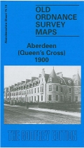 Old OS Map Aberdeen Queen's Cross 1900