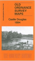 Old OS Map Castle Douglas 1894