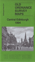 Old OS Map Edinburgh Central 1894