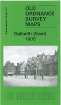 Old OS Map Dalkieth (East) 1905