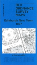 Old OS Map Edinburgh (New Town) 1877