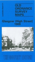 Old OS Map Glasgow (High Street) 1909