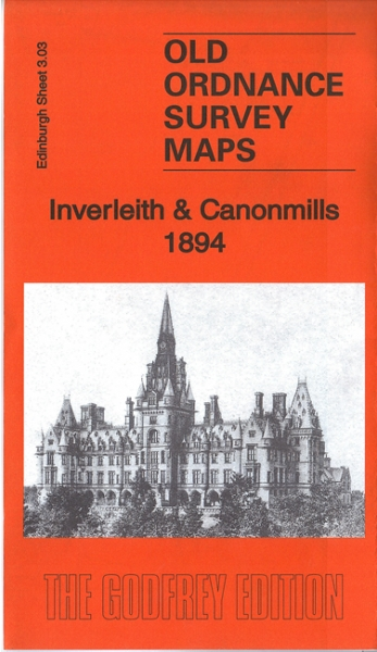 Old OS Map Inverleith & Canonmills 1894