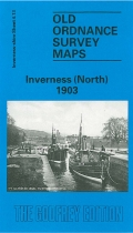 Old OS Map Inverness (North) 1903
