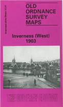 Old OS Map Inverness (West) 1903