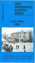 Old OS Map Leith Walk 1894