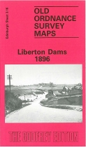 Old OS Map Liberton Dams 1896