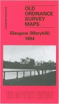 Old OS Map Maryhill 1894