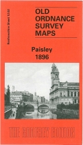 Old OS Map Paisley 1896