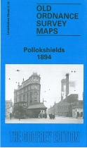 Old OS Map Pollockshields 1894