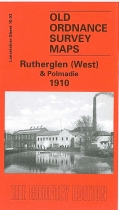 Old OS Map Rutherglen (West) & Polmadie 1910
