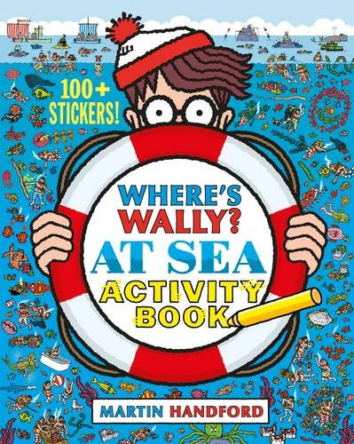 Where's Wally at Sea Activity Book