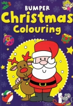 Bumper Christmas Colouring: Blue