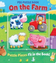 Peg Puzzle Book On the Farm