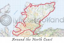Around the North Coast Postcard (HA6)