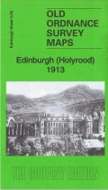 Old OS Map Edinburgh (Holyrood) 1913