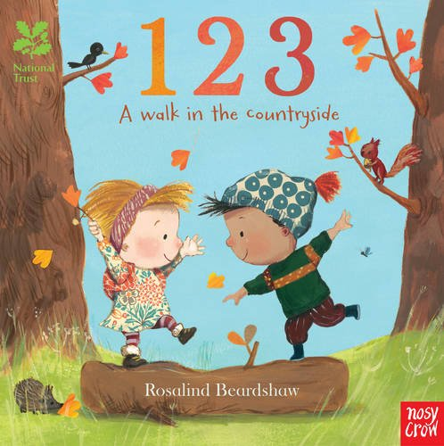 123 A Walk in the Countryside Board Book