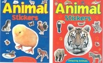 Animal Stickers (2 Asst)