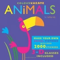 Colour & Create Animals