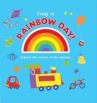 Today is Rainbow Day Board Book