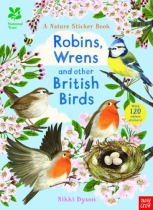 Nature Sticker Book: Robins, Wrens & Other British Birds