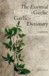 Essential Gaelic-English Dictionary (May)
