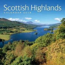 2018 Calendar Scottish Highlands (2 for £5)