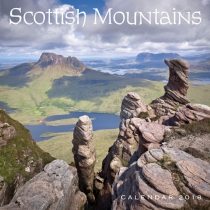 2018 Calendar Scottish Mountains (2 for £5v)