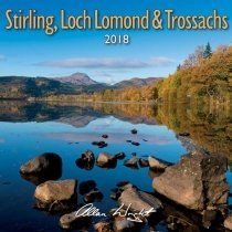 2018 Calendar Stirling, Loch Lomond, Trossachs
