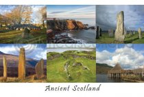 Ancient Scotland Composite Postcard (HA6)