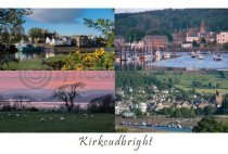 Kirkcudbright Composite Postcard (HA6)