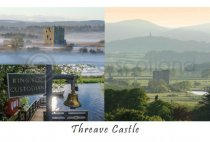 Threave Castle Composite Postcard (H A6 LY)