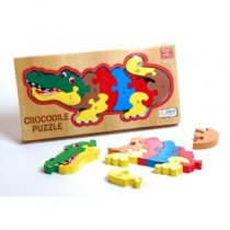 Wood Deluxe Crocodile Puzzle