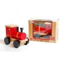 Wood Deluxe Little Red Train