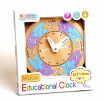 Let's Learn Wooden Clock