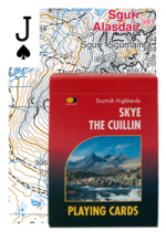 Playing Cards Skye Cuillin