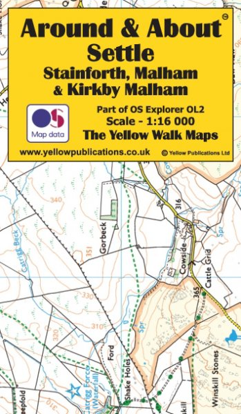 A&A Map Settle, Stainforth, Malham & Kirkby Malham