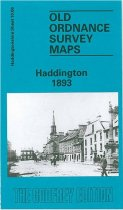 Old OS Map Haddington 1893