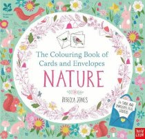 Nature Colouring Book of Cards and Envelopes
