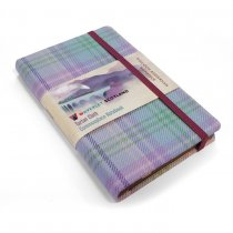 Tartan Cloth Notebook Pocket: Romance