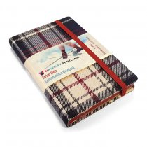 Tartan Cloth Notebook Pocket: Dress