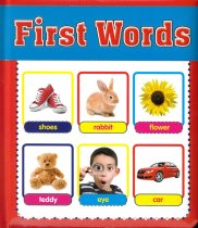 First Words Photo Board Book