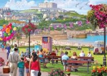 Jigsaw Newquay Harbour 1000pc