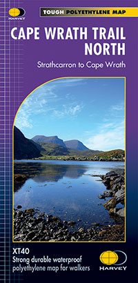 XT40 National Trail Map Cape Wrath North
