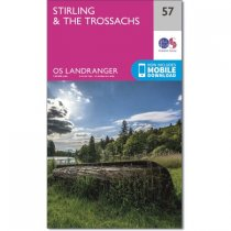 Landranger Active 57 Stirling & the Trossachs