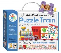 Jigsaw 123 Puzzle Train