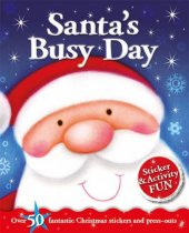Santa's Busy Day Sticker Activity