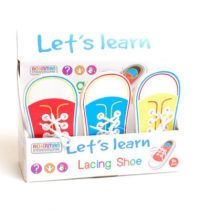 Let's Learn Lacing Shoe