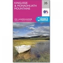 Landranger Active 35 Kingussie & Monadhliath Mountains
